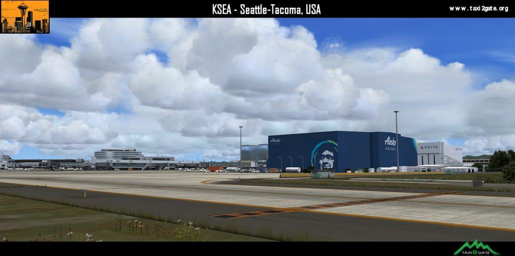 Taxi2Gate Seattle-Tacoma P3D V4 Update Released – FSElite