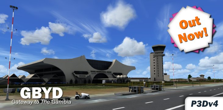prepar3d / fsx] Grand Island Sim Banjul Airport Released