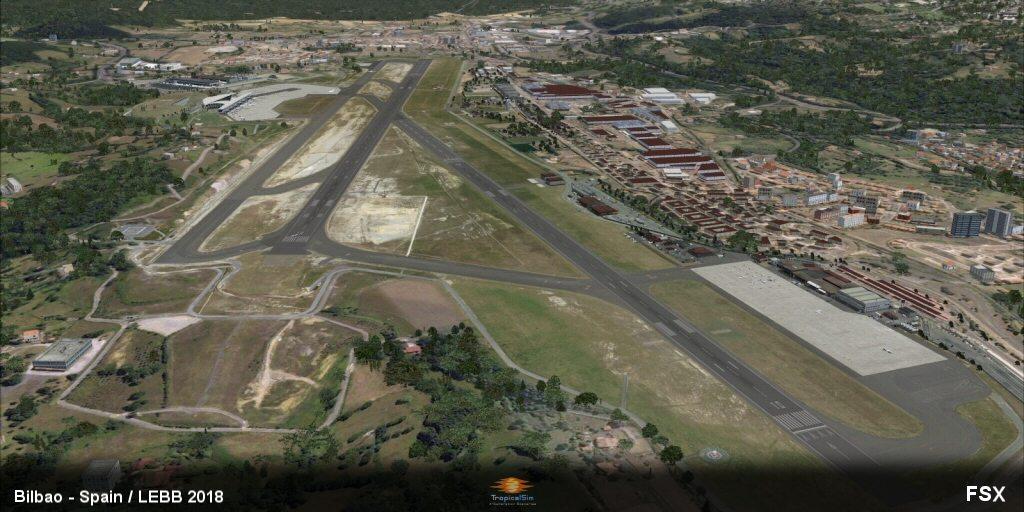 prepar3d / fsx] TropicalSim Bilbao LEBB 2018 Released - ON APPROACH