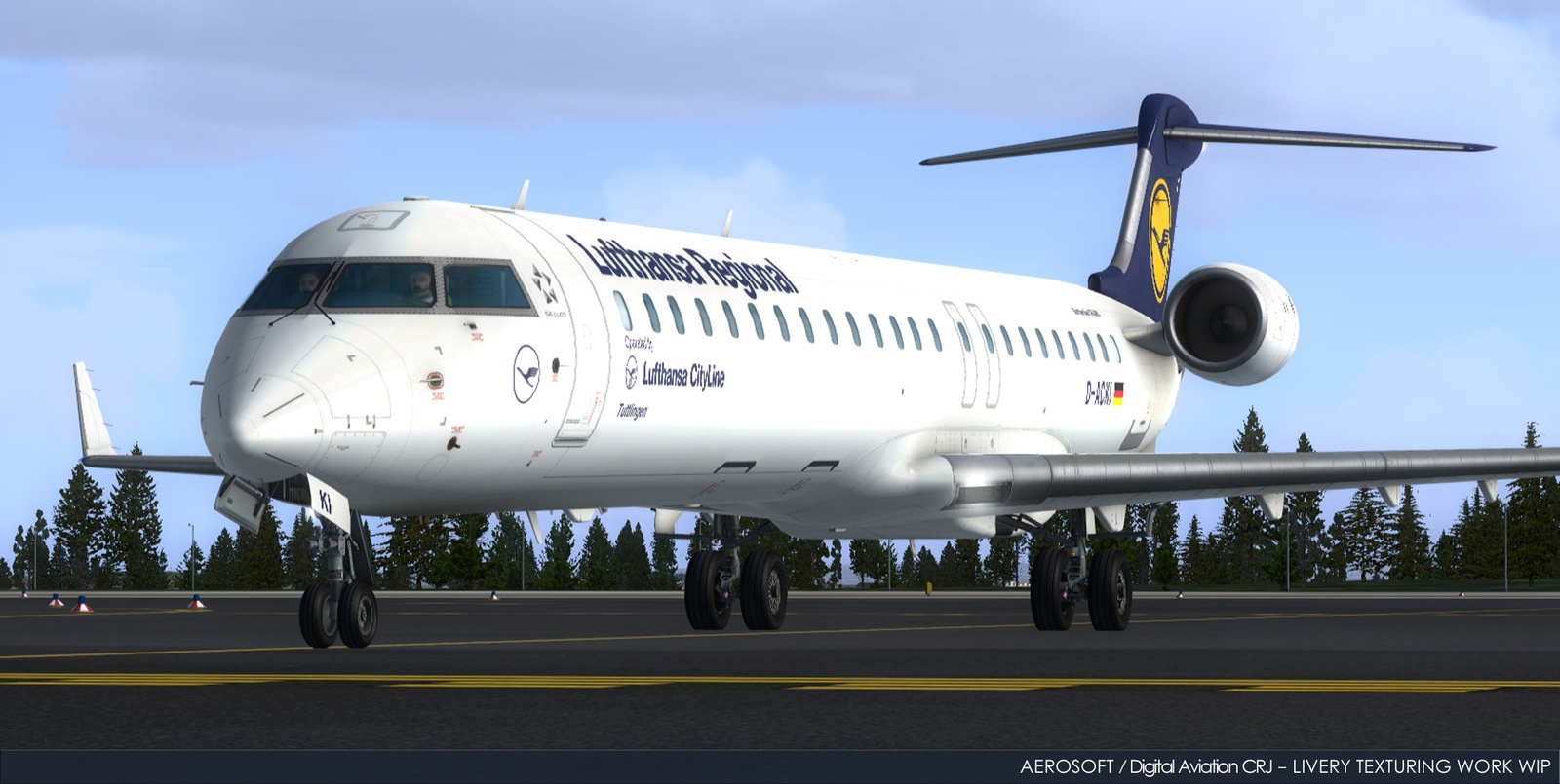 Aerosoft CRJ New Shots Paint Jobs 61 – FSElite