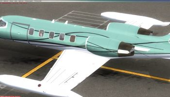 FSX Boxed Fort Lauderdale FL To Kingston Jamaica Feat. Flysimwares Learjet 35A Pt. 1