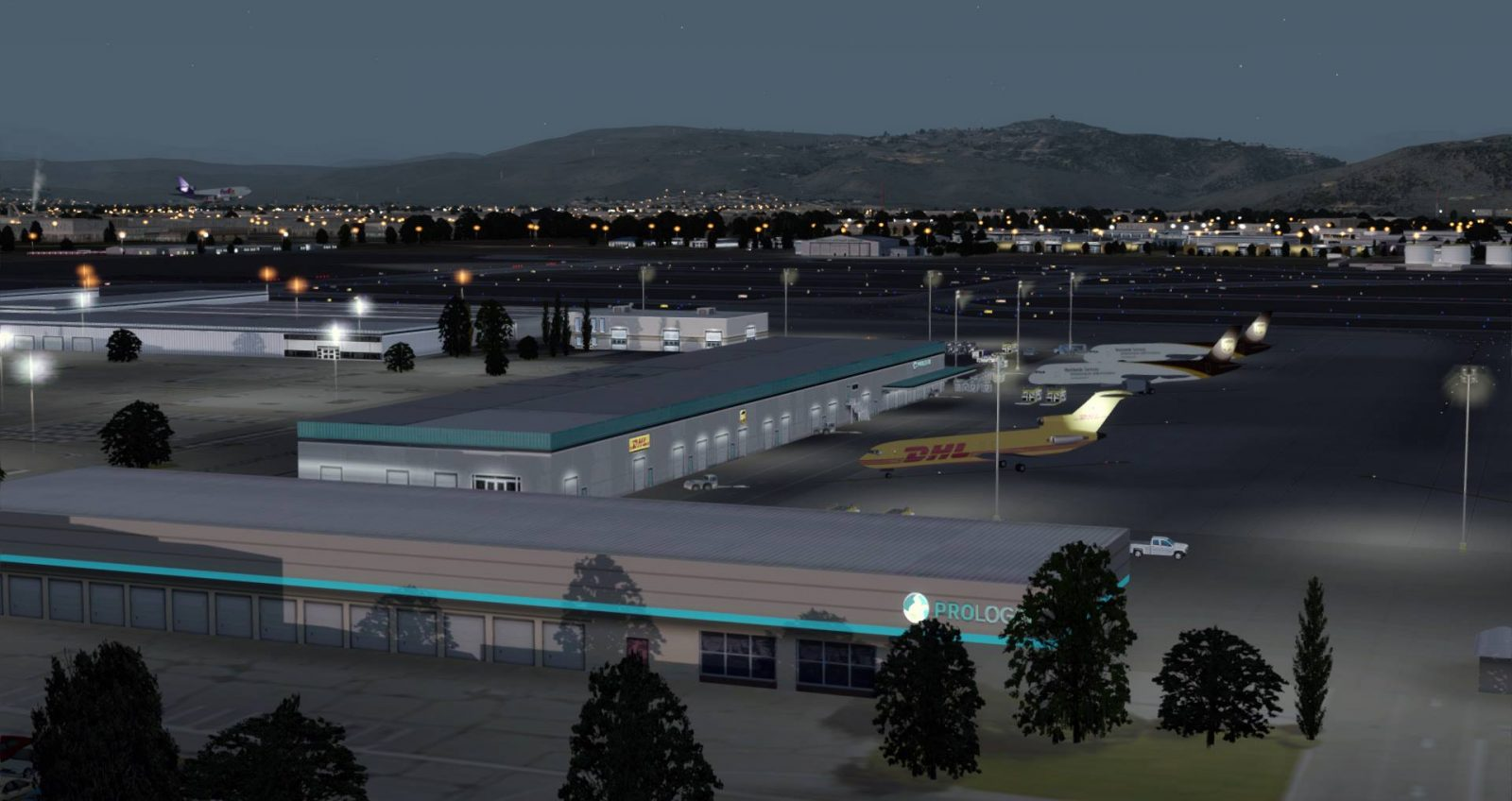 prepar3d / fsx] PACSIM Preview More Shots Of Reno/Tahoe