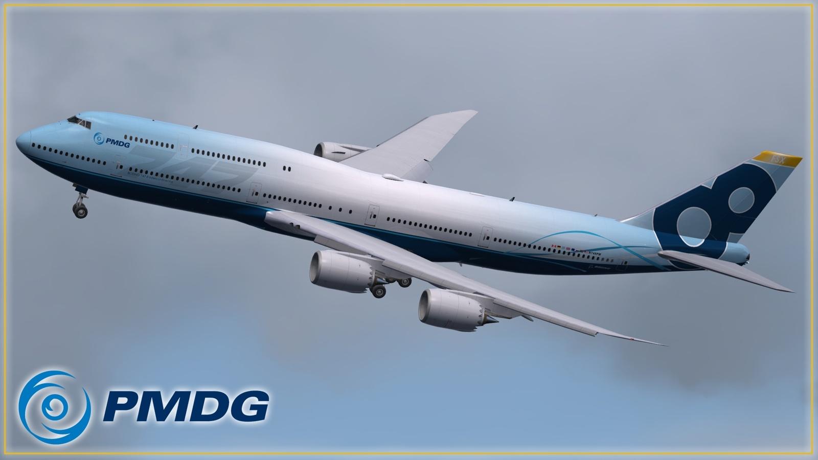 PMDG 748 Flyby