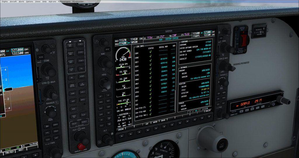 CAR C172 G1000