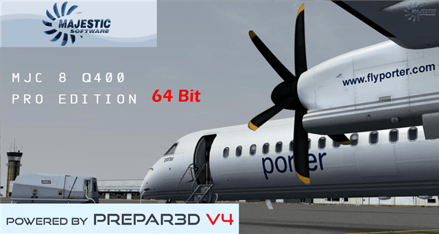 UPDATED: Majestic Dash 8 Q400 Pro and Pilot 64-bit Edition Released