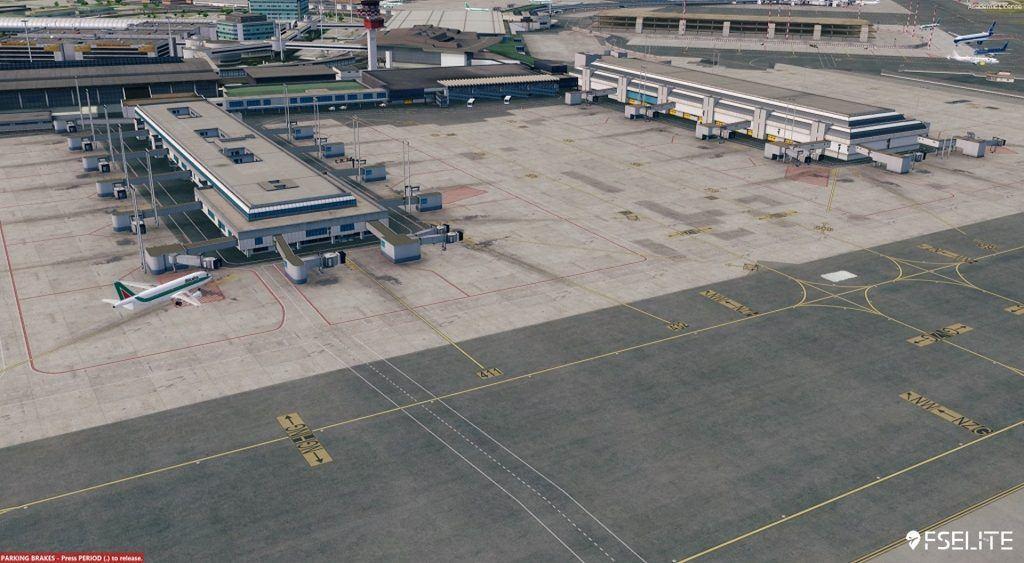 Aerosoft Mega Airport Rome (LIRF): The FSElite Review – FSElite