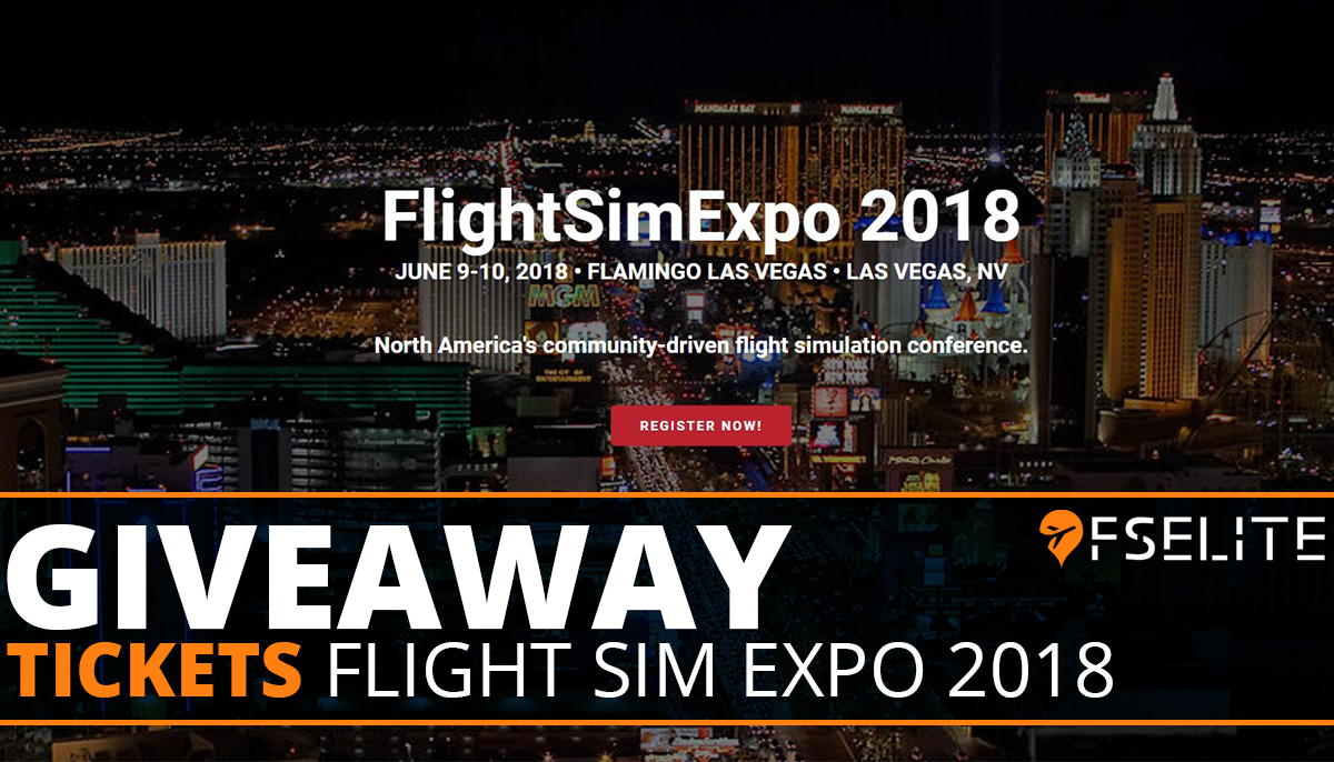 FLIGHTSIMEXPO Cover Giveaway