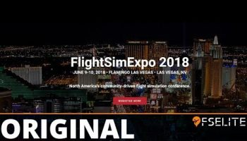 FSElite Original FlightSimExpo 2018 Interview