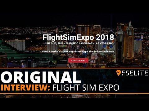 FSElite Original FlightSimExpo 2018 Interview