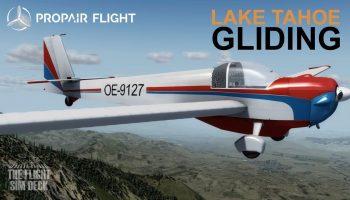 Prepar3D V4 A Motor Glider Propair Flight Falke SF 25 C