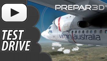 Test Drive P3D V4 Carenado Fokker F50