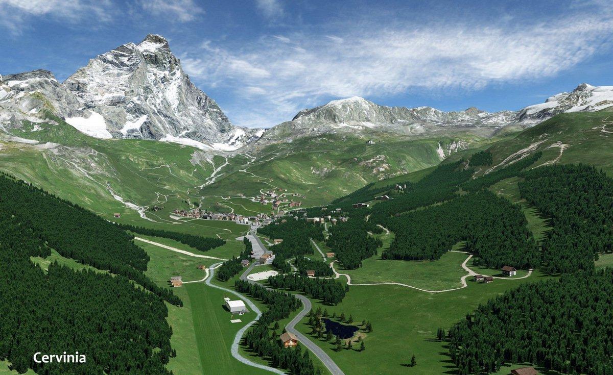 xplane] Frank Dainese & Fabio Bellini Release 3D Matterhorn