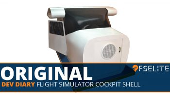 Fselite Original Flght Sim Cockpit Shell