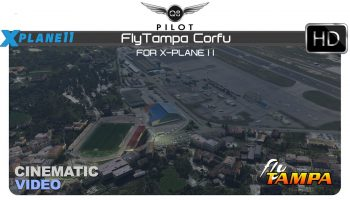 FlyTampa Corfu For X Plane 11 Cinematic Video