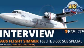 Aus Flight Simmer The FSElite Interview 3000 Subscriber Special