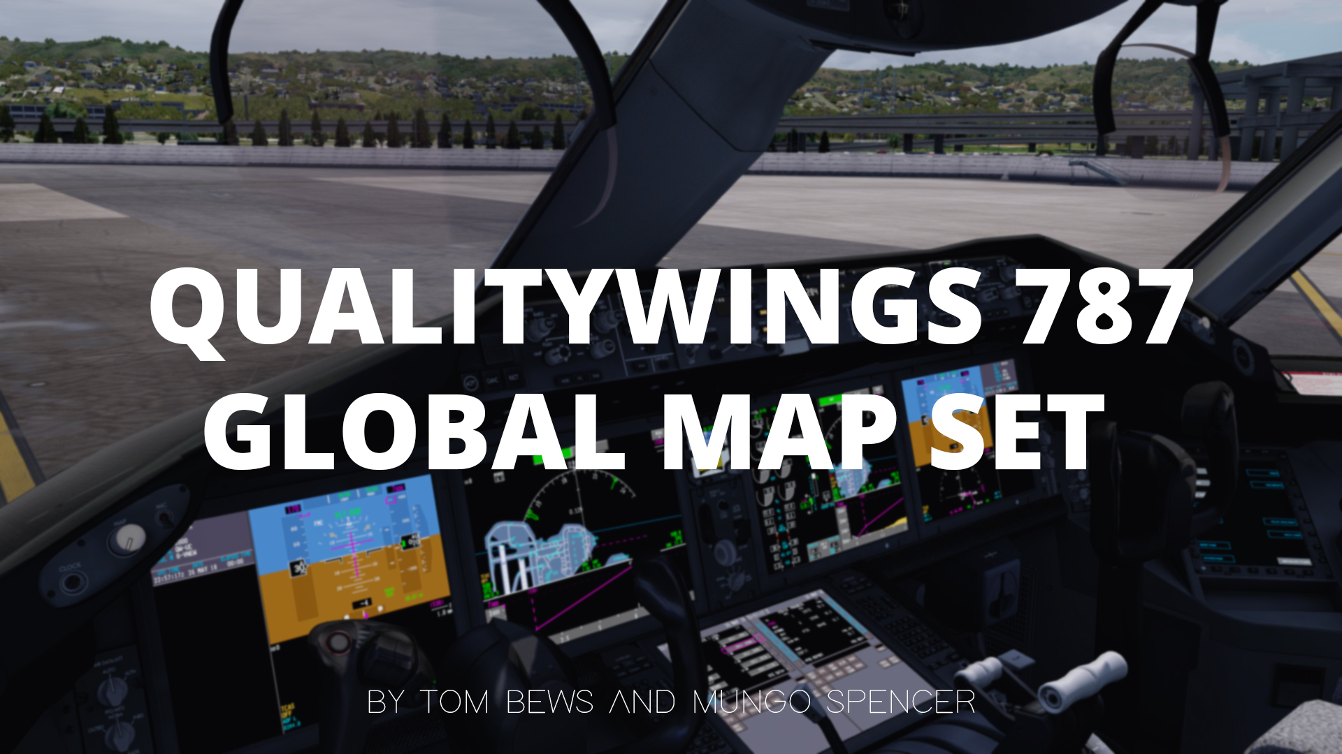 QualityWings 787 Map Set – FSElite