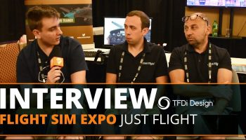 FSElite Flight Sim Expo 2018 Just Flight Interview