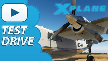 Test Drive Carenado 690B TURBO COMMANDER Xplane 11