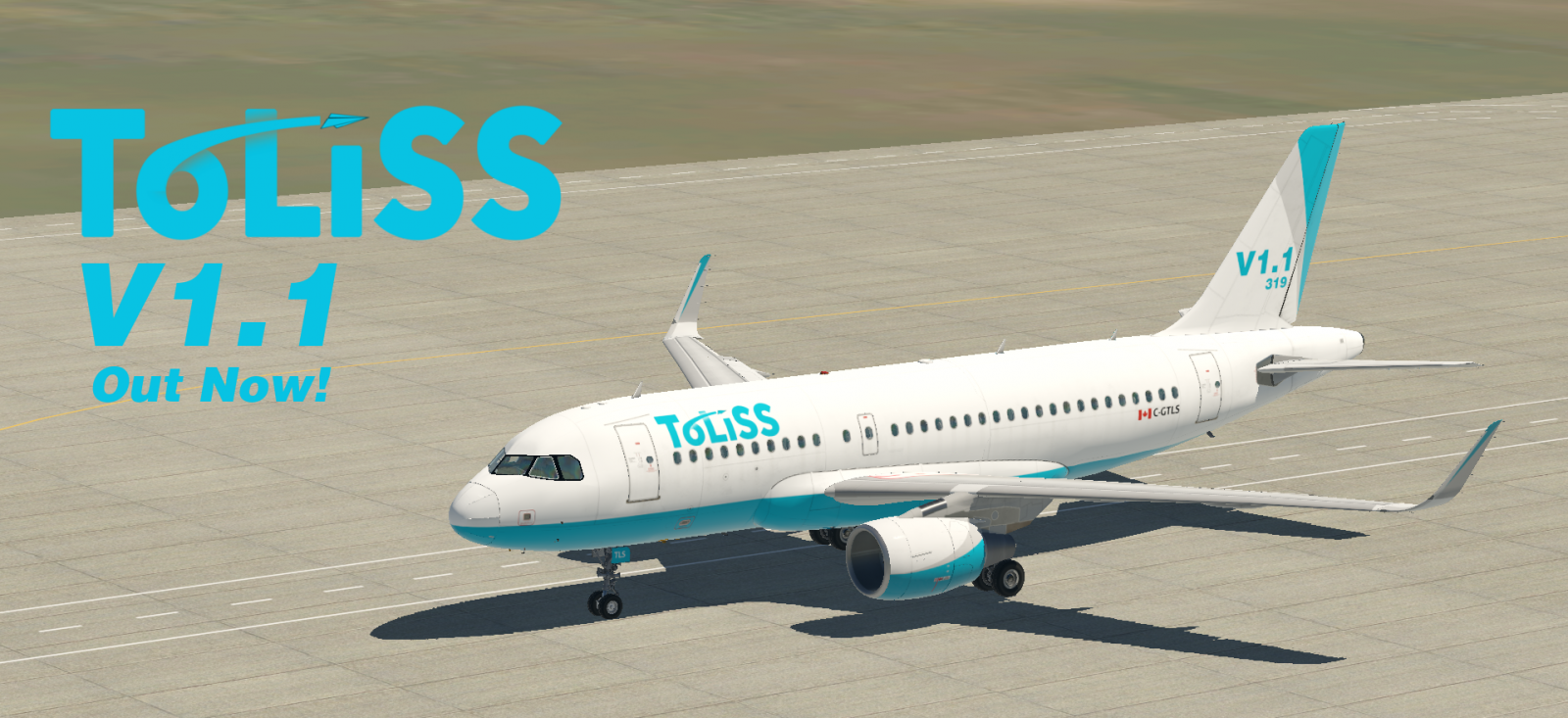 ToLiSS A319 Updated to Version 1 1 – FSElite