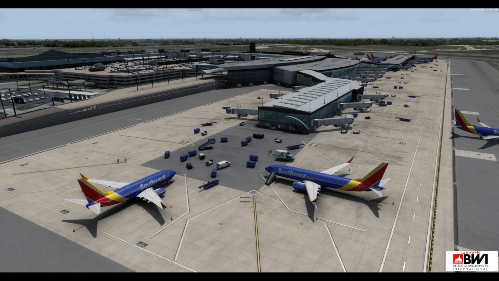 LatinVFR Release Baltimore-Washington Intl  for FSX / P3D V1