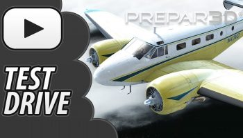 Test Drive Carenado Beechcraft D18S Prepar3D