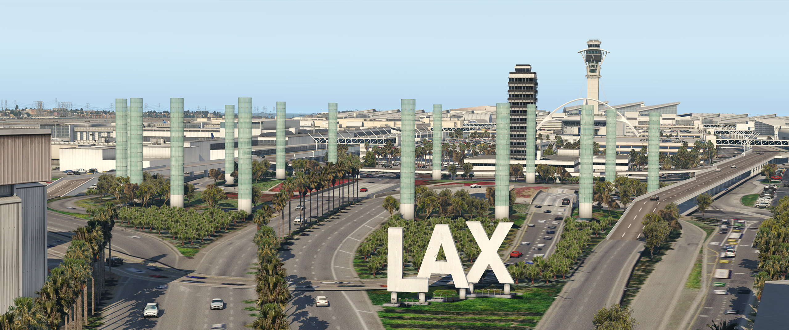FunnerFlight – KLAX – Los Angeles International V2 (KLAX / LAX) – DCTRY
