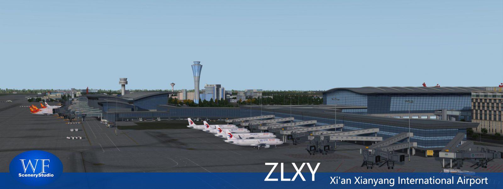 Xian Aeroporto : Wf scenery studio releases xi an xianyang airport for p dv fselite