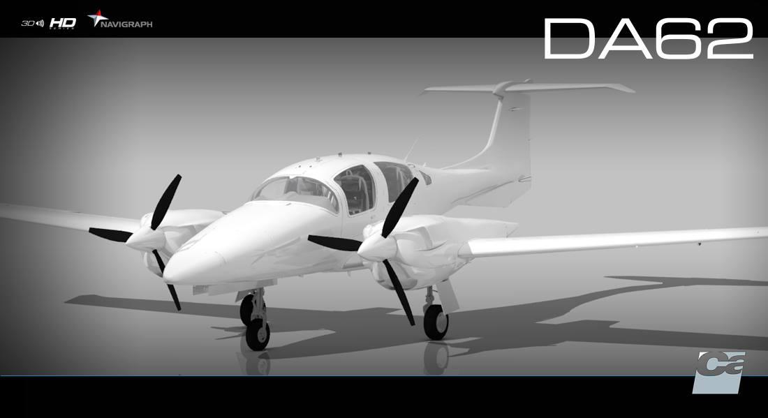Vertx Flight Simulation Announces Diamond Da62 For P3d V4
