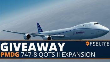 PMDG 747 8 Giveaway