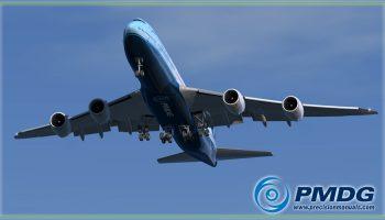 PMDG 748 Landing