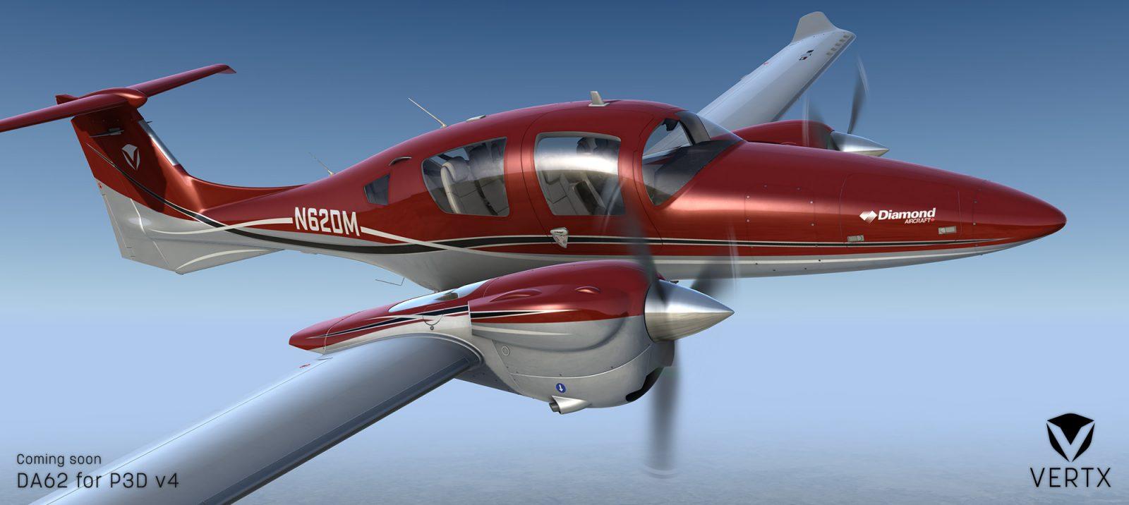 prepar3d / fsx] Vertx Flight Simulation DA62 - ON APPROACH - Topics