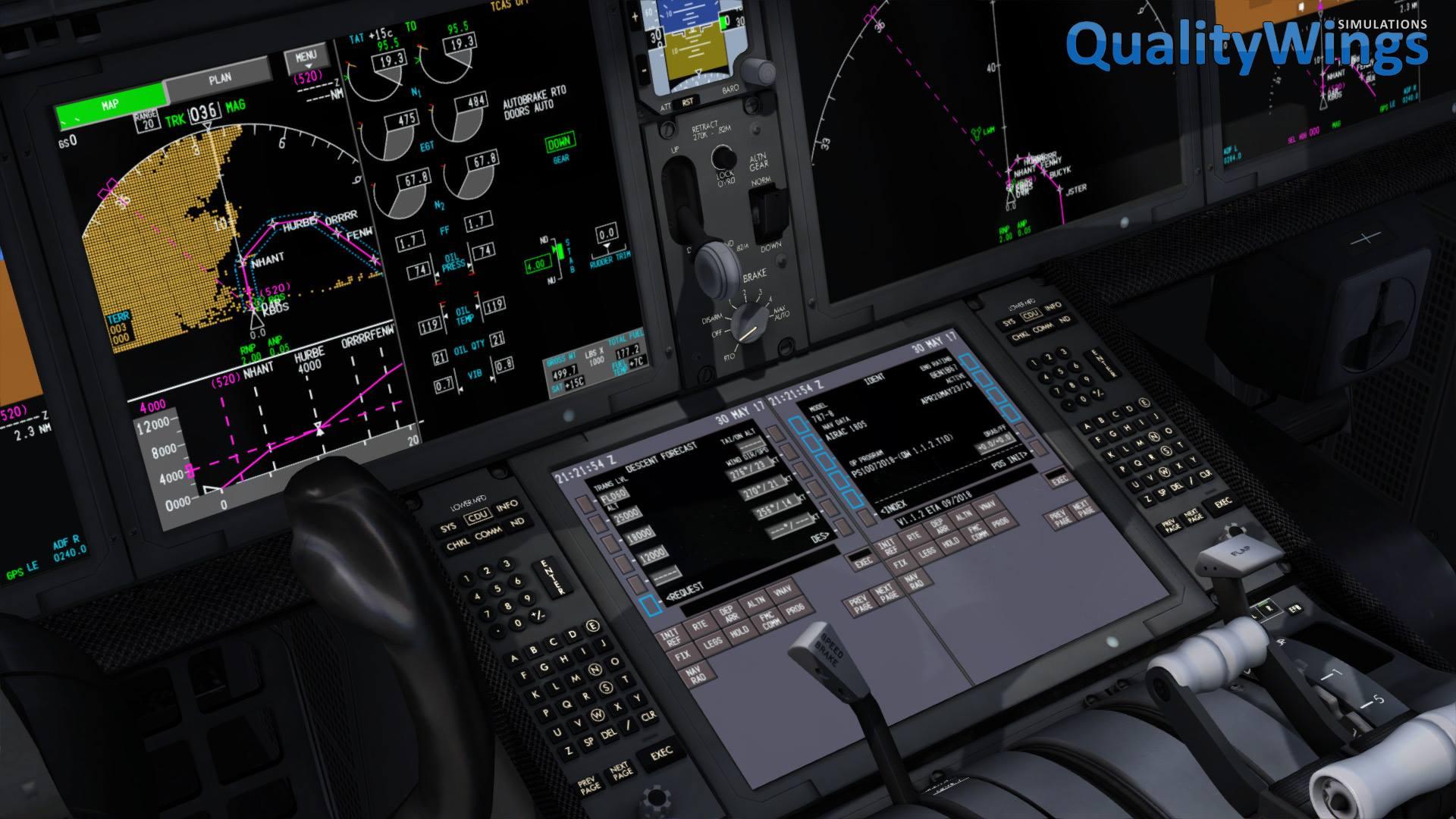 prepar3d / fsx] QualityWings Ultimate 787 1 1 2 Update Due