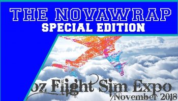 NovaWrap Special Edition Oz Flight Sim Expo Interview