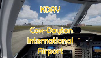 Realworld Scenery KDAY Cox Dayton International Airport