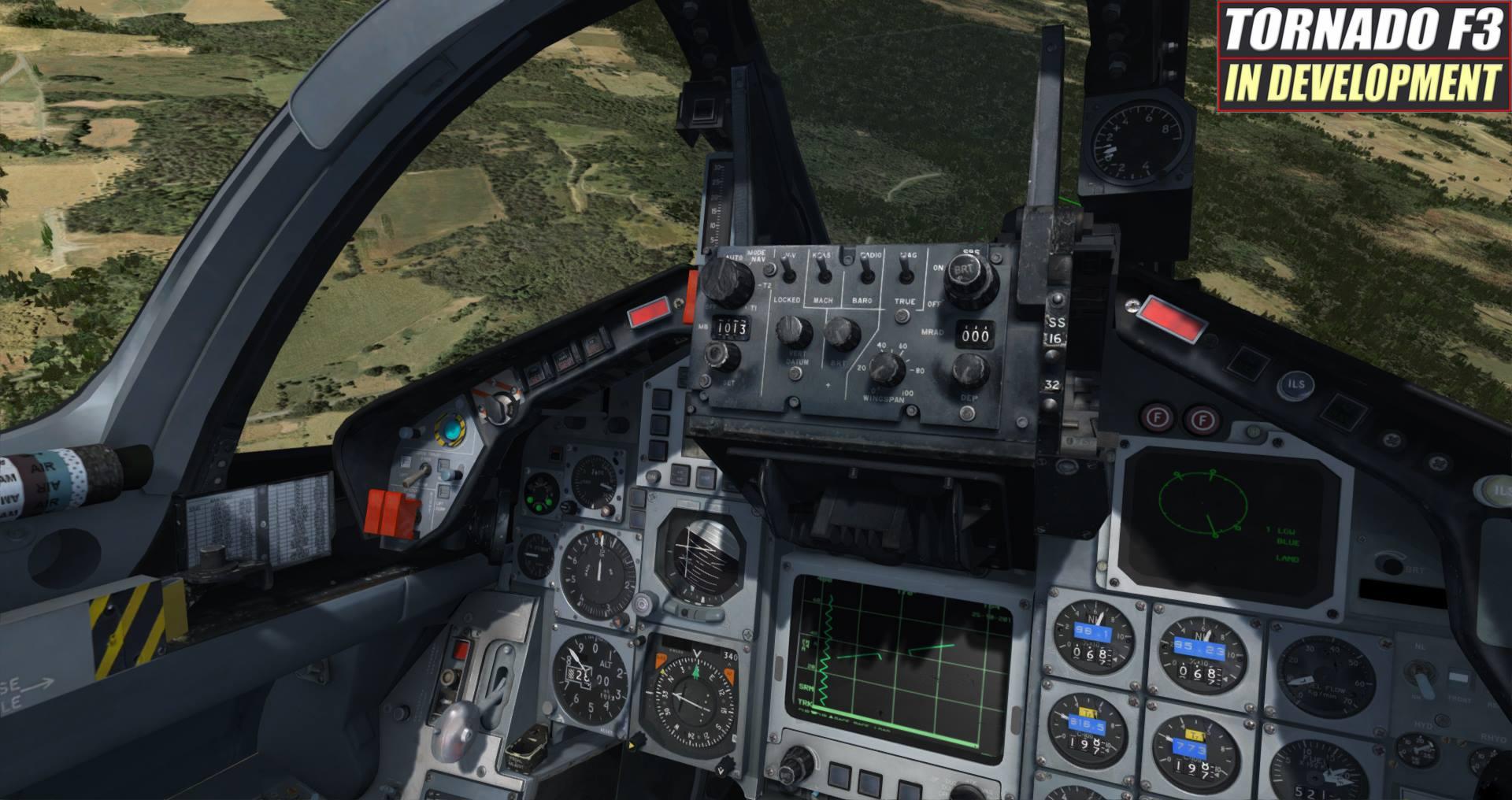 prepar3d / fsx] Just Flight Tease Tornado F3 Before Year's