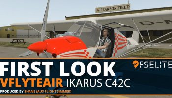 VFlyteAir Simulations IKARUS C42C The FSElite First Look