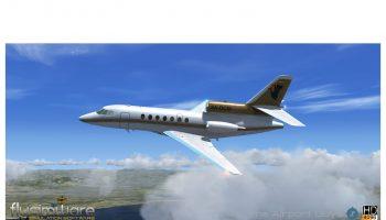 Flysimware S Dassault Falcon 50
