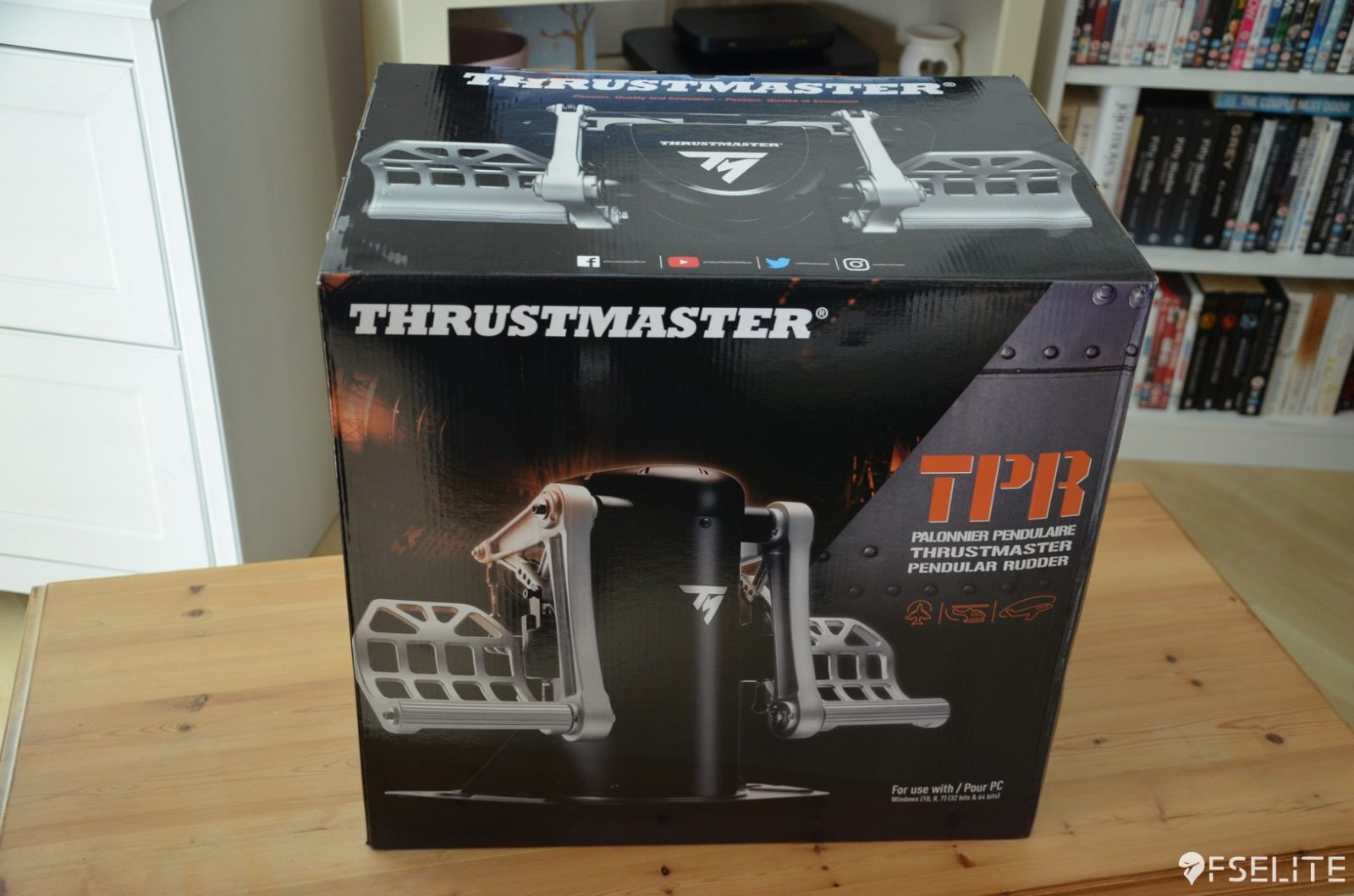 Thrustmaster TPR Pedal Set: The FSElite Review – FSElite