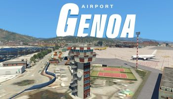 Airport Genoa – XPlane 11 Add On – Official Trailer