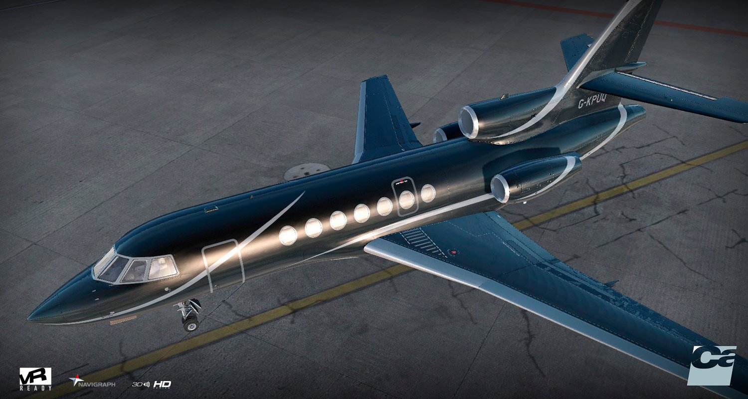 prepar3d / fsx] Carenado Dassault Falcon FA50 EX Coming Very Soon